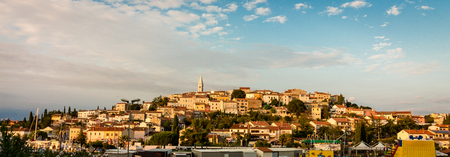 Panorama of Vrsar  Croatia