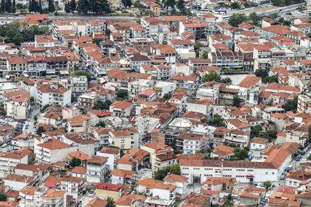 View to Kalambaka from above