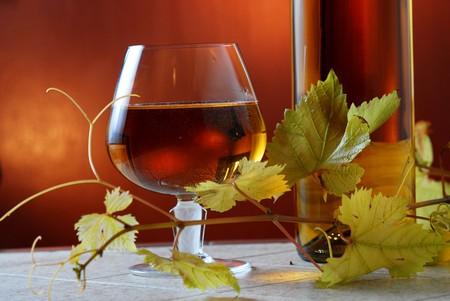 wine bottle Banco de Imagens