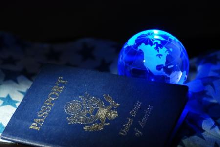pasaporte: Pasaporte norteamericano