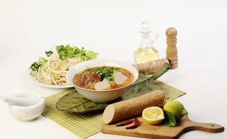 Vietnamese food  Stok Fotoğraf