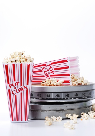 film canister and popcorn photo