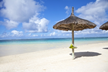 belle: Belle Mare beach at Mauritius.