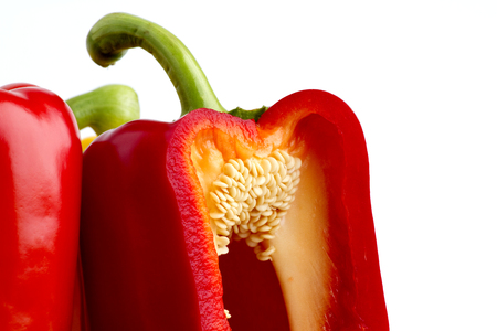 Details of Peppers in red