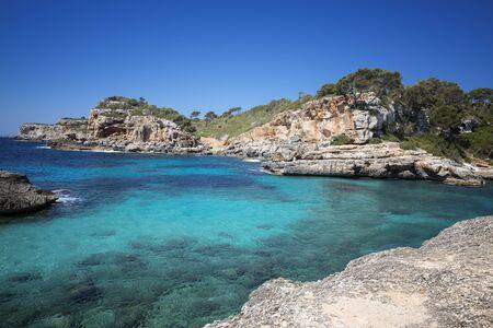 Landscape of the Island Mallorca - near Cala Moro Foto de archivo