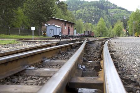 Railway station in the Zittauer mountains