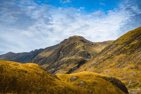 Autumn mountain panorama Glencoe - Scotland