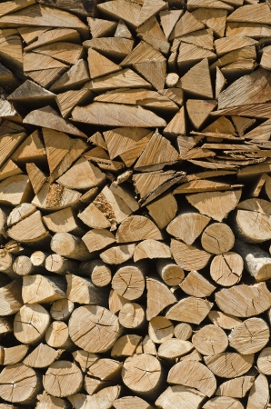 accepts: the wood is ready to be burned