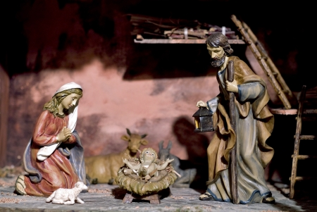 The nativity of Christ photo