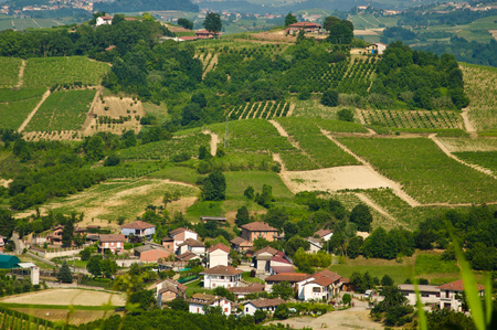 Landscapes of the roer between vineyards, castles and good wine