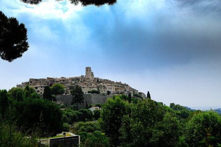the medieval city of saint paul de vence in france: land of artists and writers