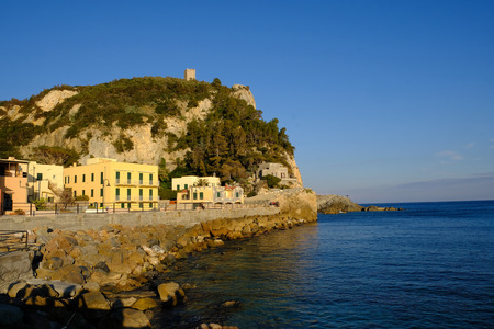 the colors of the Ligurian coast and the Mediterranean spot of varigotti in the province of Savona, Liguria