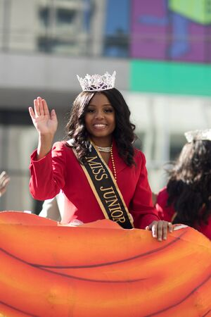 New Orleans, Louisiana, USA - November 25, 2017, The Bayou Classic Parade is a Thanksgiving Day themed parade prior to the annual college football game between the Grambling State University Tigers and the Southern University Jaguars since November 11 193