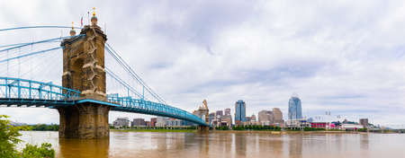 Cincinnati, city in the state of Ohio, United States, as seen across the Ohio river