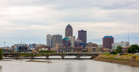 Des Moines, the capital of the state of Iowa, United States of America