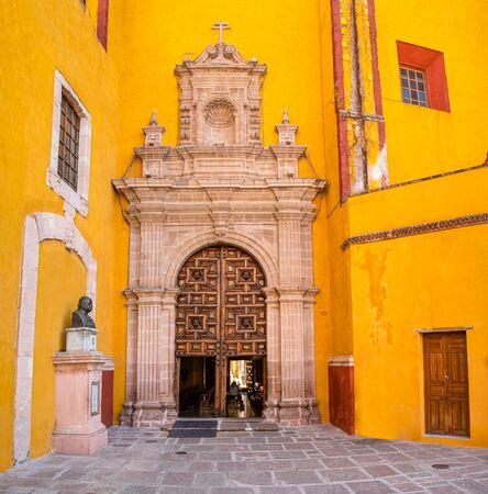 Parroquia de Basílica Colegiata de Nuestra Señora de Guanajuato, in the Mexican city of Guanajuato.