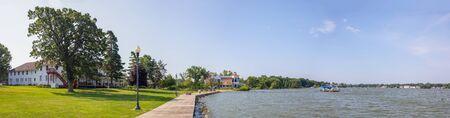 Old Historic building in Cedar Lake, Indiana, USA Imagens