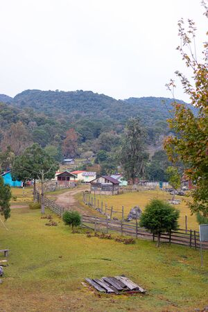 San Jose, small mountain town in the state of Tamulipas, Mexico, known for ecotourism at El Cielo Biosphere.