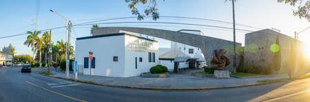 Matamoros, Tamaulipas, USA - November 20, 2019, The Museum of Contemporary Art of Tamaulipas Editorial