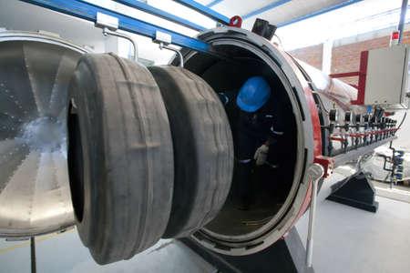 Factory wheels photo