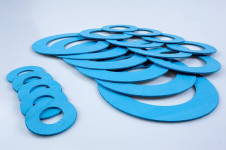 rubber gasket: Gasket, mechanical seal which fills the space between two or blackberries mating surfaces, to prevent leakage of objects while under compression