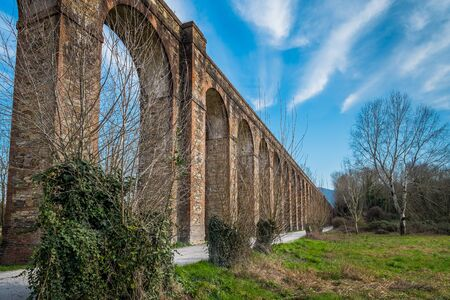 lucca: Italy, Tuscany, Lucca, Acquedotto Nottolini
