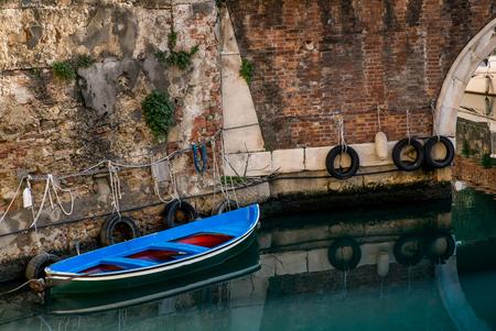 leghorn: Livorno, The district of Venice (Quartiere Venezia) with its canals, bridges, merchant architectures