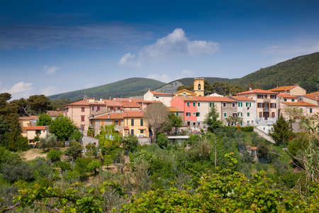 fraction: Pomaia is a fraction of the municipality of Santa Luce, in the province of Pisa, panoramic view