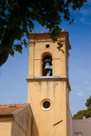 fraction: Pomaia is a fraction of the municipality of Santa Luce, in the province of Pisa, Saint Stephens Church Stock Photo