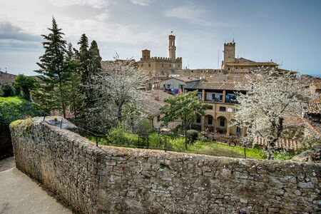 volterra: Italy, Tuscany, Volterra, view from the Park archaeological Enrico Fiumi