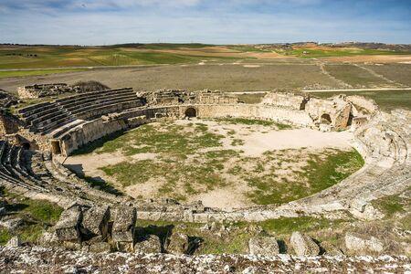 cuenca: Roman ruins of Segobriga, Cuenca Province, Castile-La-Mancha, Spain