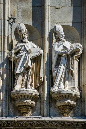 mancha: Toledo, Castilla La Mancha, Spain, Primate Cathedral of St Mary of Toledo detail Stock Photo