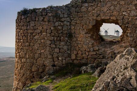 timeless: Don Quixotes Windmills, Consuegra Spain, Spanish Landscape in La Castilla La Mancha