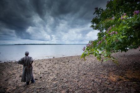 Sierra Leona, África Occidental Foto de archivo