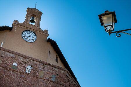 Lari in the municipality of Casciana Terme in the province of Pisa is important for its Castello dei Vicari, Vicari Castle