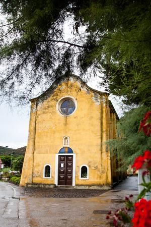 capraia: Capraia Island, Arcipelago Toscano National Park, Tuscany, Italy - Assunta Church