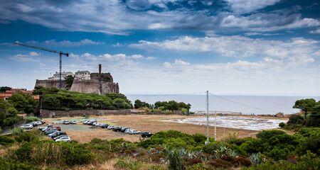 livorno: Capraia Island, Arcipelago Toscano National Park, Tuscany, Italy - Saint George Fort