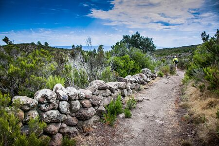 tyrrhenian: Capraia Island, Arcipelago Toscano National Park, Tuscany, Italy - The path of Reganico