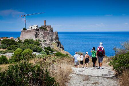 capraia: Capraia Island, Arcipelago Toscano National Park, Tuscany, Italy - Saint George Fort
