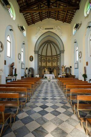 MARINA DI PISA, ITALY - Avril 24, 2017: Parish of Mary Assumed, Professions Sisters Daughters of Nazareth in Marina di Pisa