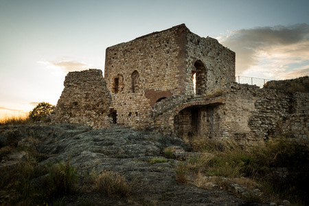 Fontemassi, Grosseto, Tuscany - fraction of the Italian town of Raccastrada, in the province of Grosseto, in Tuscany, the ruins of the castle of Fontemassi
