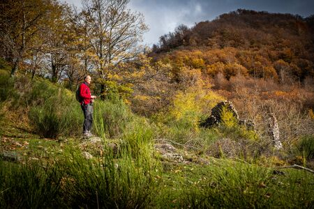 Pilgrims found refuge and refreshment in the Spedaletto of which few ruins remain on the Pontito path that leads up to Croce a Veglia,  walking along the Lucchese Apennines from the village of Pontito