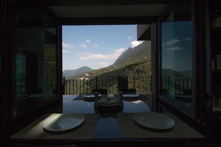 window to a landscape
