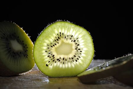 Kiwi slice photo