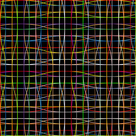 weird mesh, vector art illustration; more stripes and textures in my gallery