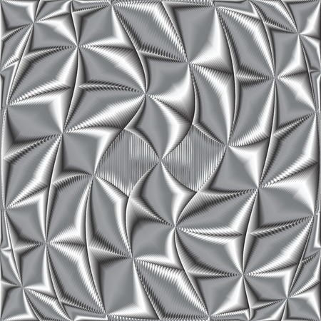 Twisted metallene Textur, Vektor-Kunst-Abbildung Vektorgrafik