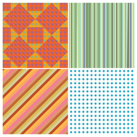 stripe collection, vector art illustration, more stripes and textures in my gallery