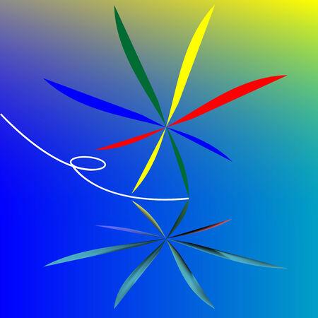 skating logo, vector art illustration Vector
