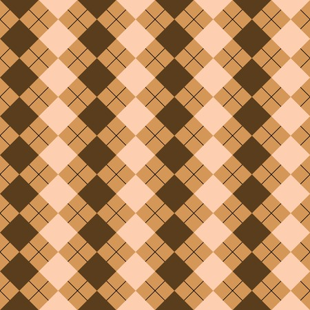 checkerboard backdrop: sweater texture mixed brown colors, vector art illustration; more textures in my gallery