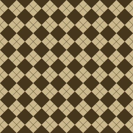 checkerboard backdrop: sweater texture, vector art illustration